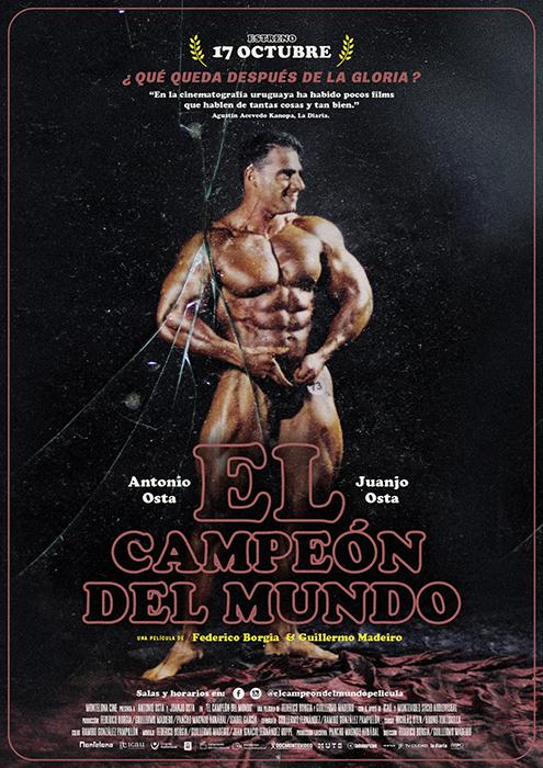 Resultado de imagen para campeón del mundo afiche peli uruguay